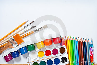 Materials for children s creativity