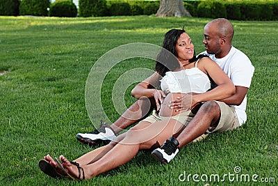 Maternity Attractive Couple