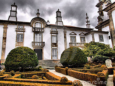 Mateus palace garden in vila Real