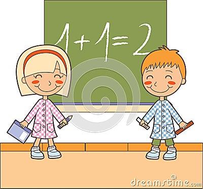 Math classroom time
