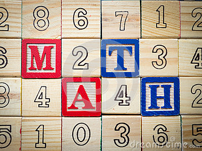 Math and numbers
