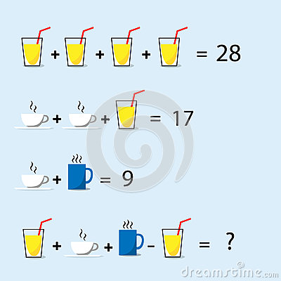 Free Math Puzzle, Decision Making, Solve Trick Question Royalty Free Stock Photography - 69681827