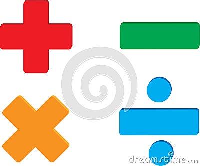 math symbols stock photography image 4503862