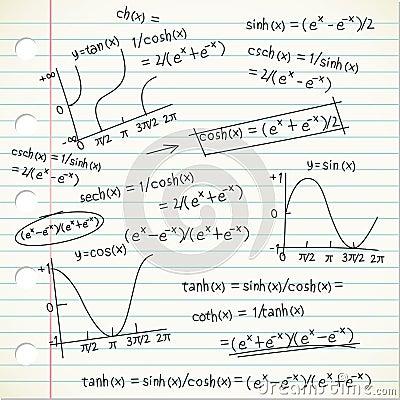 Mathematic formula doodle