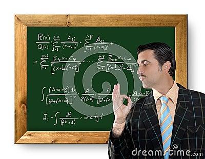 Mathematical formula genius geek