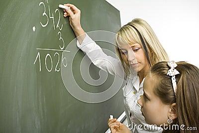 Maths lesson