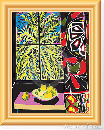 Matisse In Frame Royalty Free Stock Images - Image: 6844909