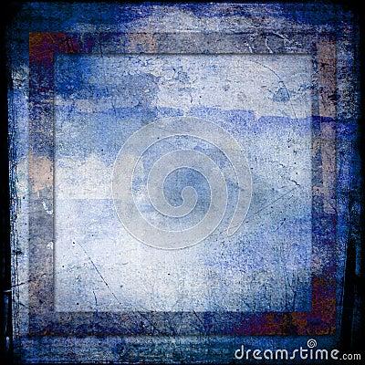 Matiz do fundo do grunge dos azuis