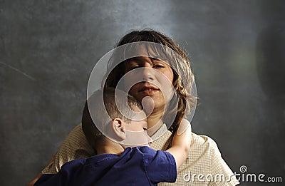 Matka dziecka gospodarstwa
