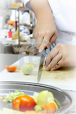 Matlagningförberedelse