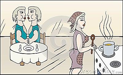 Matlagningmom