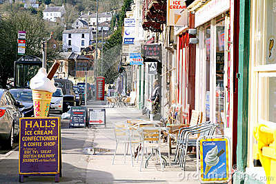 Matlock Bath, Derbyshire. Editorial Photo