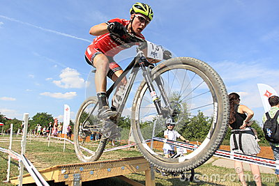Matous Ulman - MTB cross country Editorial Stock Image