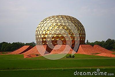 Matrimandir at Auroville, Pondicherry