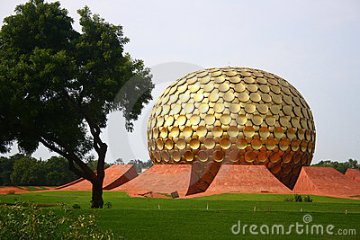 Matrimandir at Auroville, Pondicherry