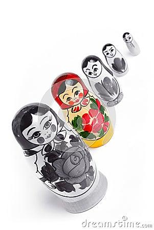 Free Matrioshka Doll Royalty Free Stock Photo - 19014015