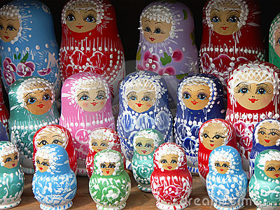 Matrioshka dolls