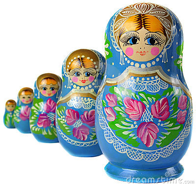 Matrioska Russian Doll
