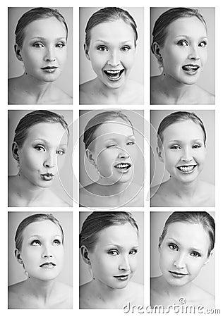 Matrix of emotions
