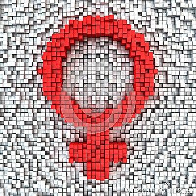 Matrix female gender