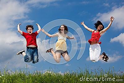Matriz com salto dos miúdos