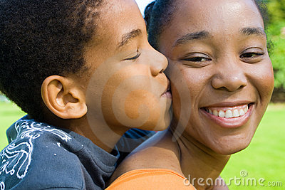Matriz do beijo da criança