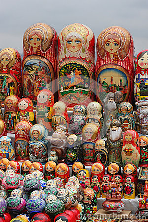 Matryochka dolls