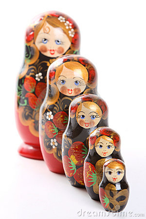 Matryoshka - Russian Nested Dolls