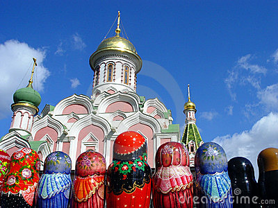 Matryoshkas at Red Square