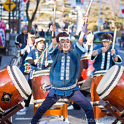 Matsumoto japan festival-4 Editorial Photography
