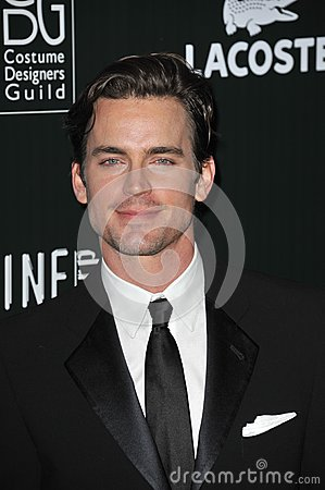 Matt Bomer Editorial Stock Image