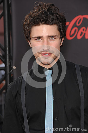 Matt Dallas Editorial Stock Photo