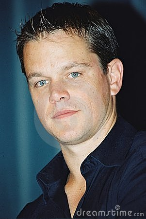Matt Damon Editorial Stock Image