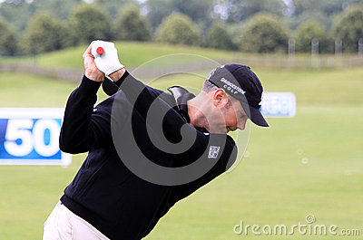 Matt Kuchar at The French golf Open 2013 Editorial Photography