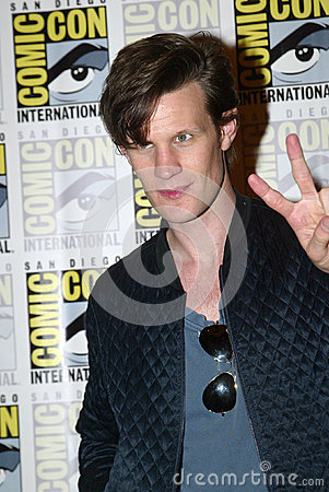 Matt Smith Editorial Stock Photo