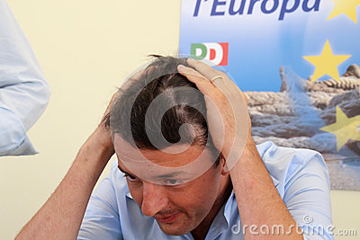 Matteo Renzi Editorial Stock Photo
