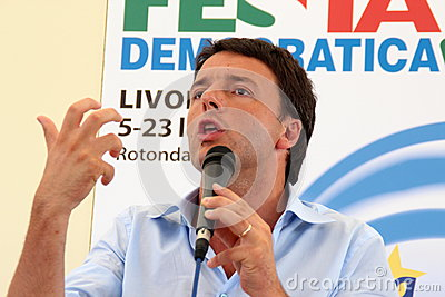 Matteo Renzi Editorial Stock Image