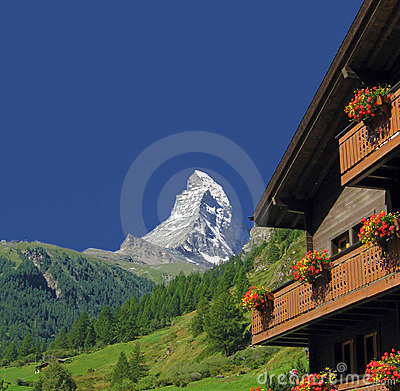 Free Matterhorn Royalty Free Stock Photo - 10090925