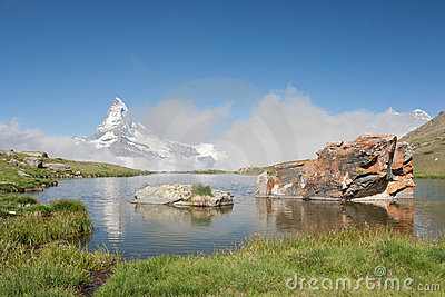 Matterhorn in Alps, Switzerland