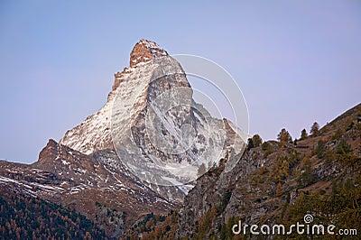 Matterhorn at dawn