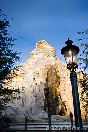 The Matterhorn at Disneyland Editorial Image