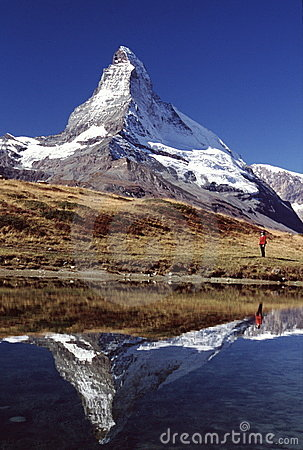 Matterhorn hiker & Reflection