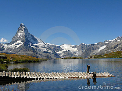 Matterhorn lake view, Switzerland