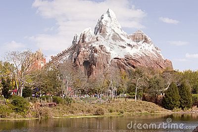 Matterhorn Ride Editorial Photo