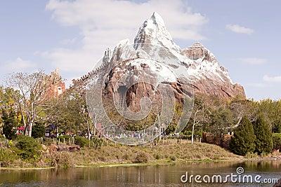 Matterhorn Ride Editorial Photo