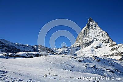 Matterhorn in swiss Alps