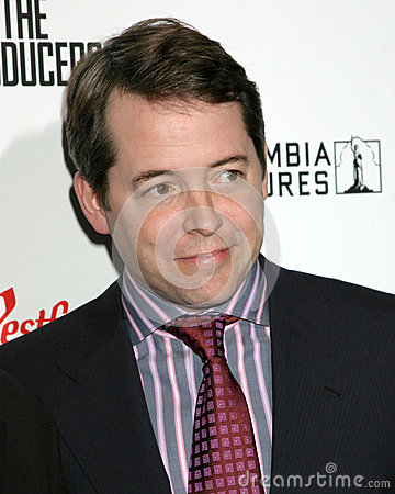 Matthew Broderick Editorial Stock Photo
