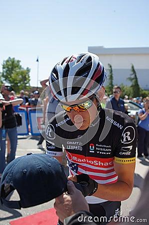 Matthew Busche 2012 Amgen Tour of California  Editorial Photo