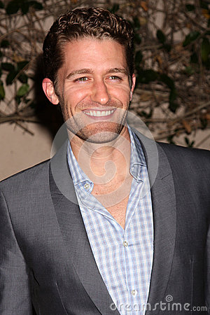 Matthew Morrison Editorial Stock Photo
