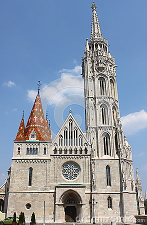 Free Matthias Church In Budapest Stock Image - 25856991